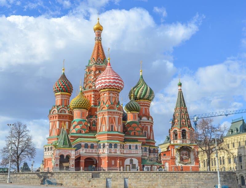 Mosca, Russia, quadrato rosso fotografia stock