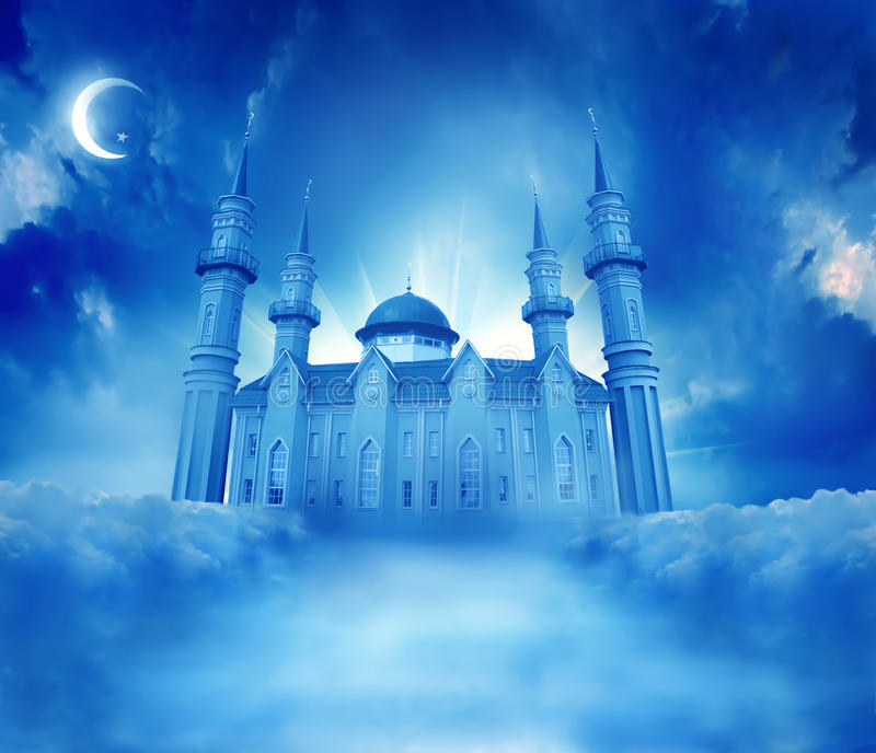 Moschea illustrazione vettoriale