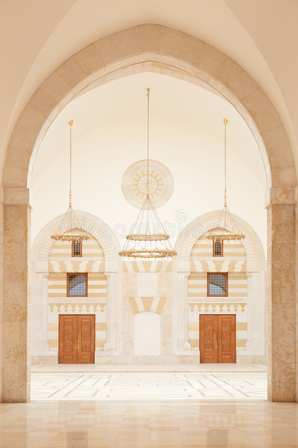 Moschea a Amman, Giordania immagini stock