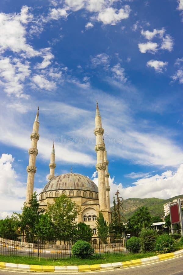 Moschea in Anamur fotografia stock