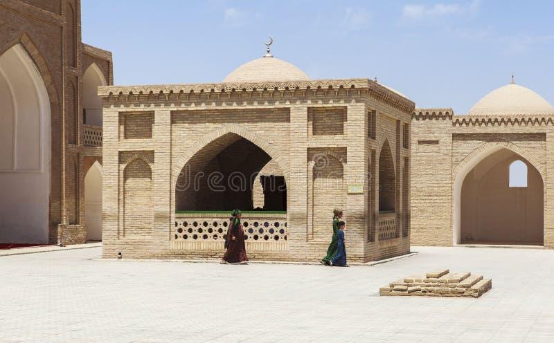 Moschea antica di Merv nel Turkmenistan immagini stock