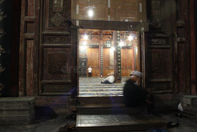 Moschea antica in Xian immagine stock libera da diritti