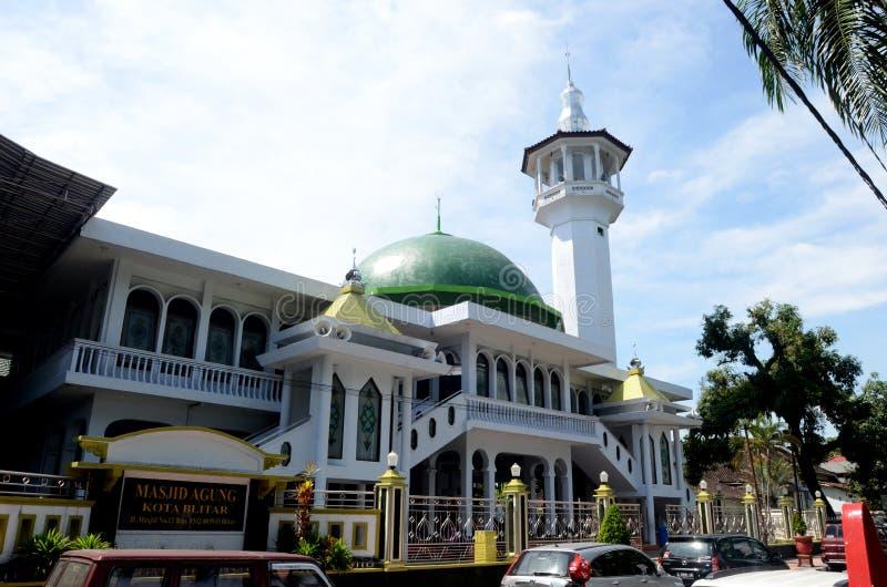 Moschea in Blitar immagine stock libera da diritti