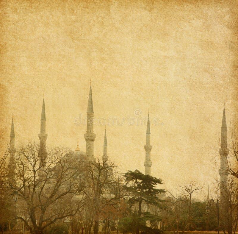 Moschea blu fotografia stock