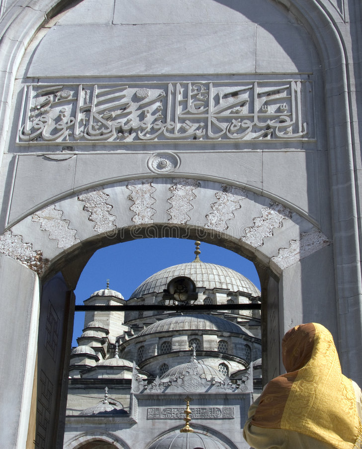 Moschea blu 6 immagine stock