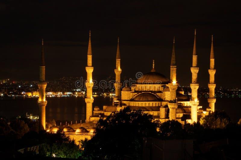 Moschea blu Costantinopoli fotografia stock libera da diritti