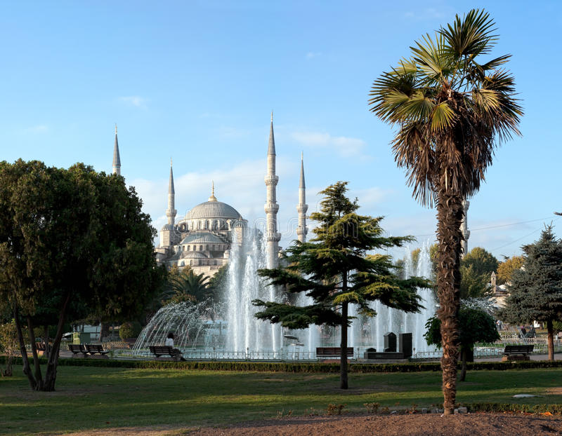 Moschea blu, Costantinopoli fotografie stock
