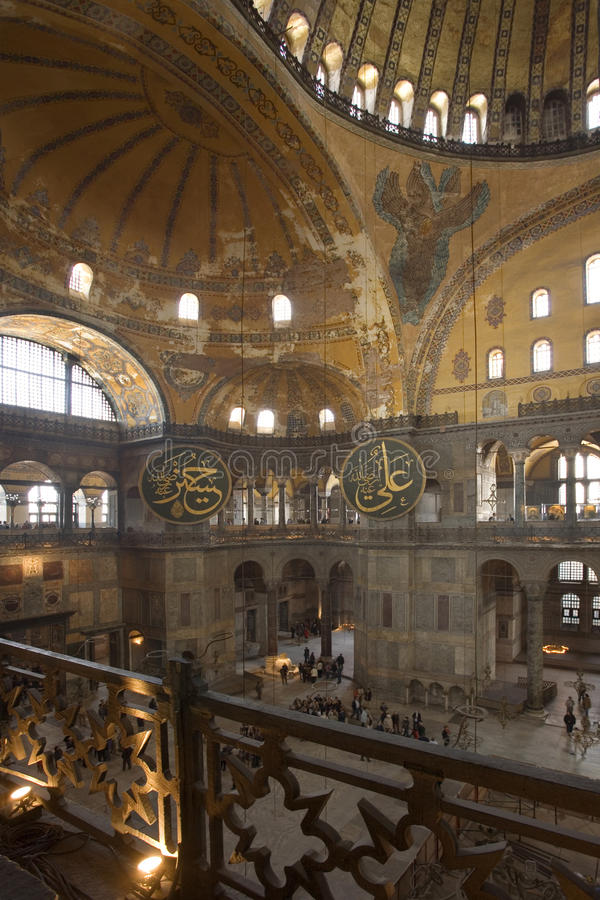 Moschea blu - Costantinopoli - Turchia fotografia stock