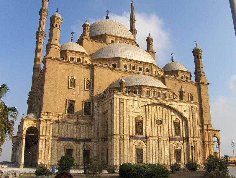 Moschea a Cairo egitto immagine stock