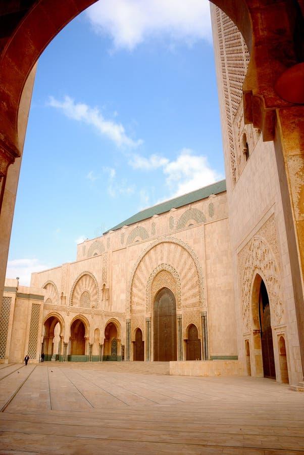 Moschea, Casablanca, Marocco immagini stock libere da diritti