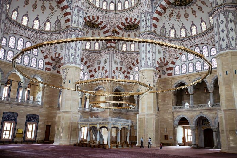 Moschea centrale nell'Adana, Turchia fotografie stock libere da diritti