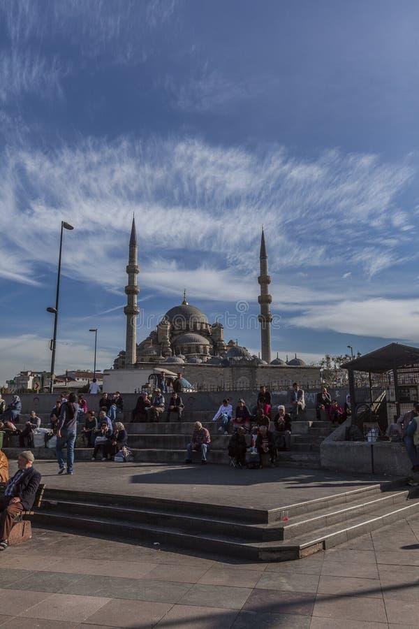 Moschea a Costantinopoli immagine stock