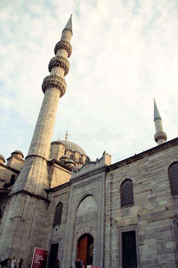 Moschea a Costantinopoli fotografia stock
