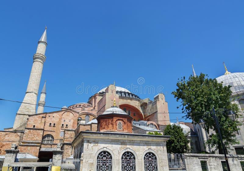 Moschea Costantinopoli, Turchia di ayasofya di Hagia Sophia immagini stock