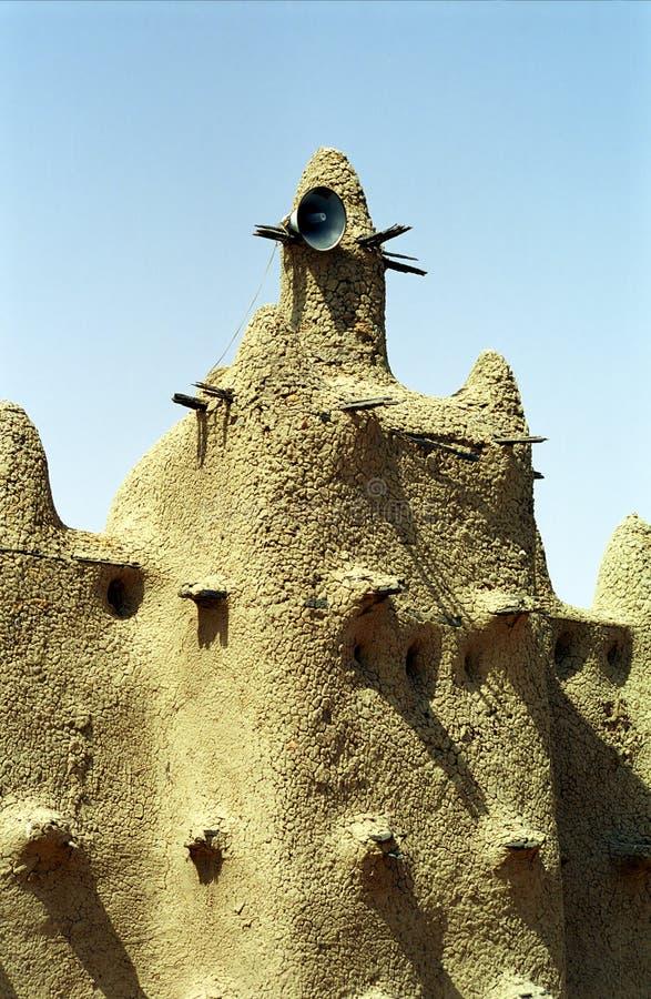 Moschea del fango, Senossa, Mali fotografia stock