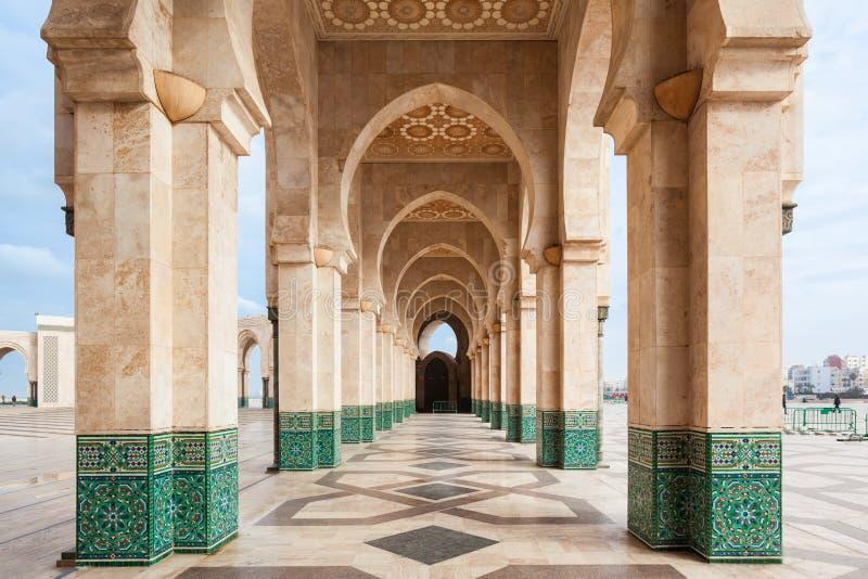 Moschea del Hassan II fotografia stock