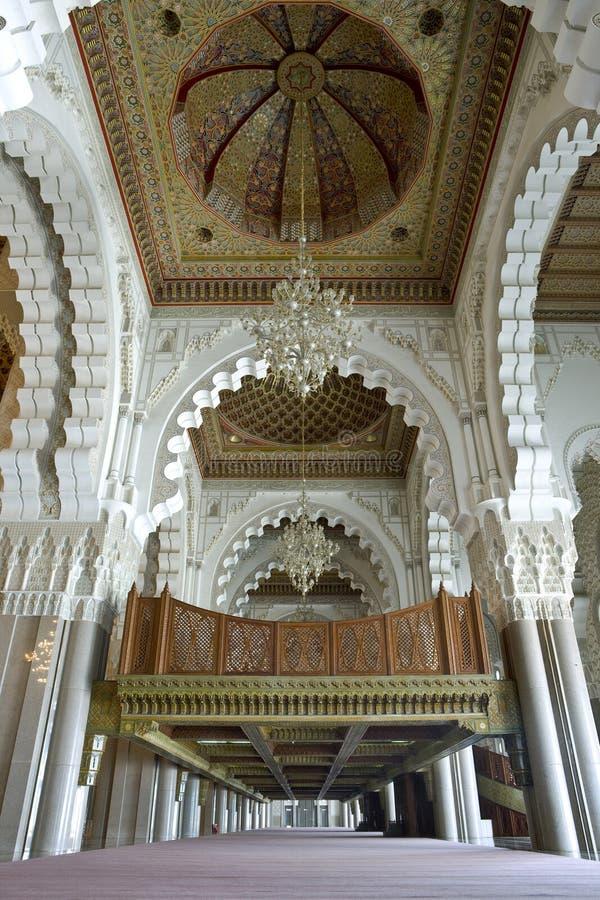 Moschea del Hassan II fotografia stock libera da diritti