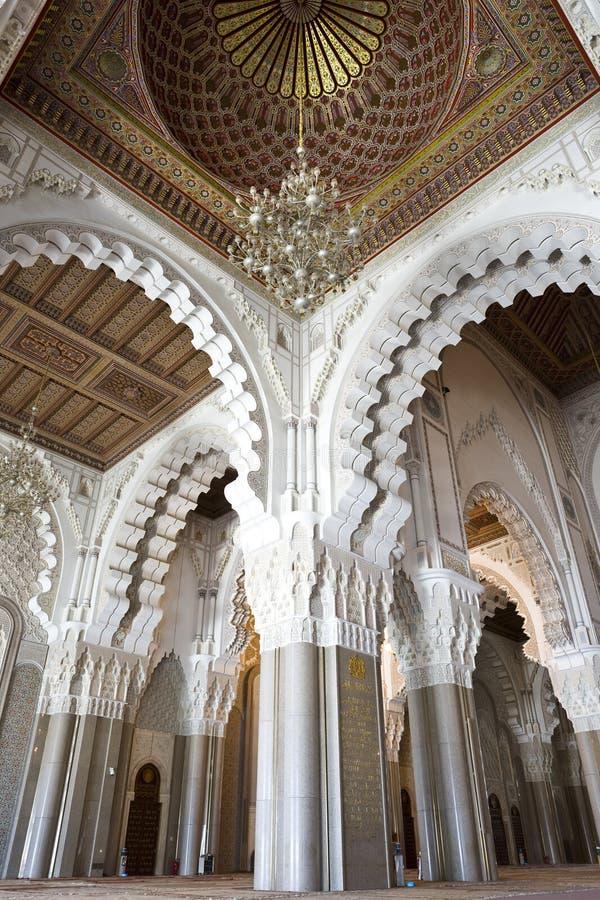 Moschea del Hassan II immagine stock libera da diritti