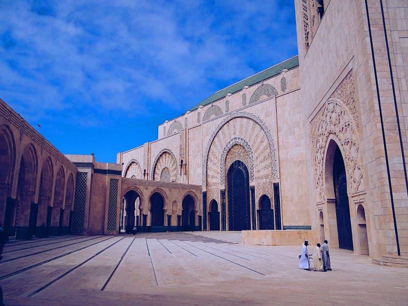 Moschea del Hassan II fotografie stock