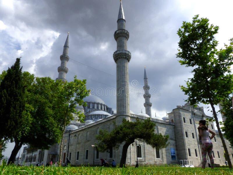 Moschea del leymaniye del ¼ di SÃ a Costantinopoli immagini stock libere da diritti