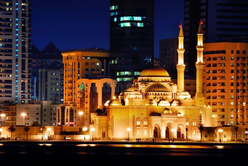 Moschea del Medio Oriente fotografia stock