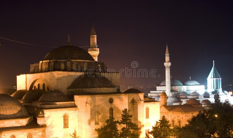Moschea del museo di Mevlana immagine stock libera da diritti