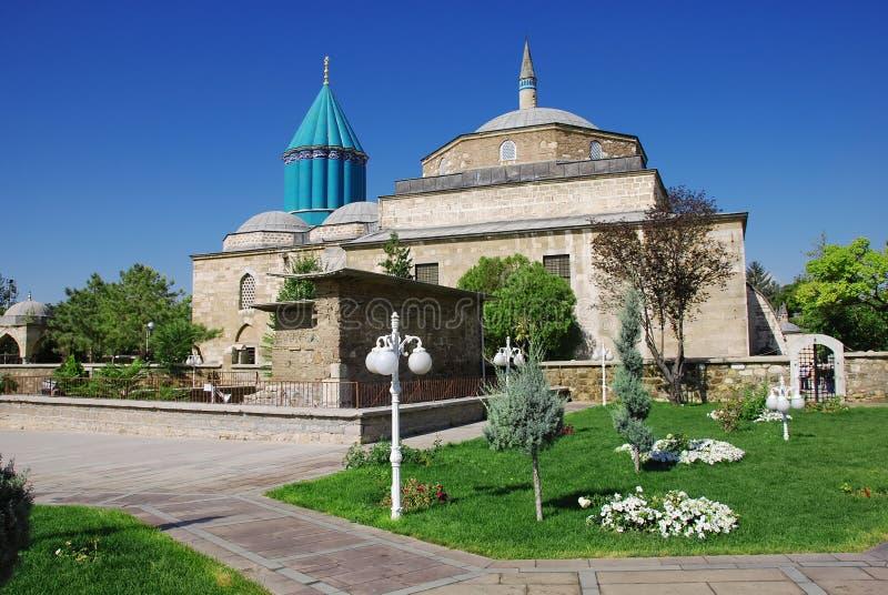 Moschea del museo di Mevlana fotografia stock