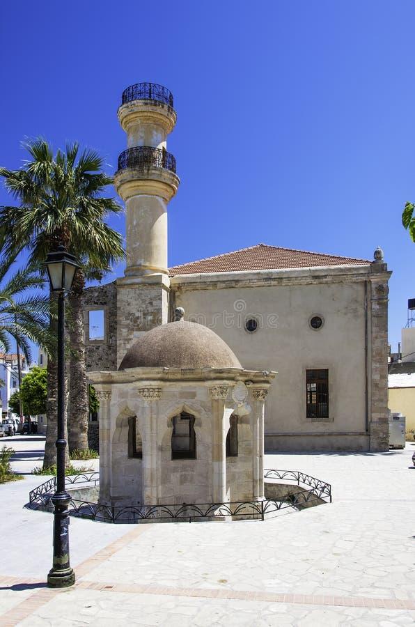 Moschea del turco di Lerapetra fotografia stock