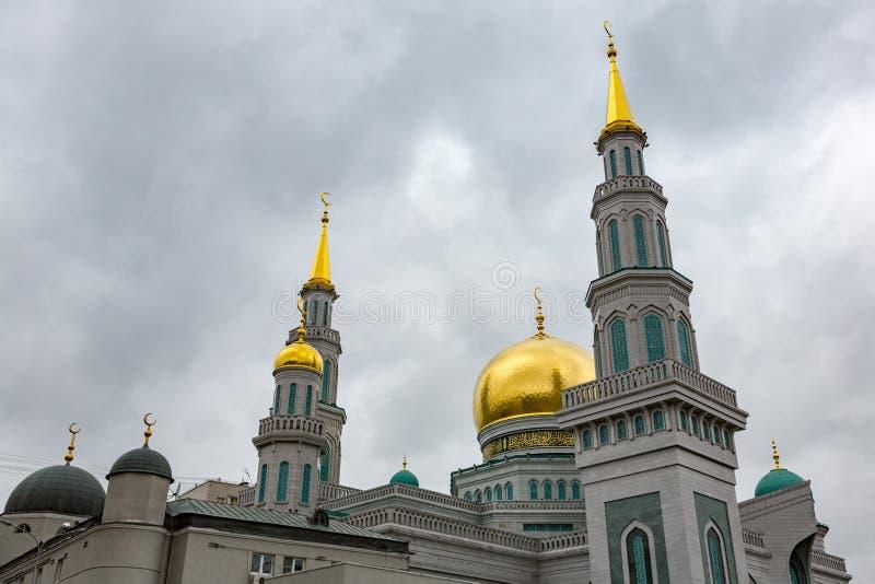 Moschea della cattedrale di Mosca immagini stock libere da diritti