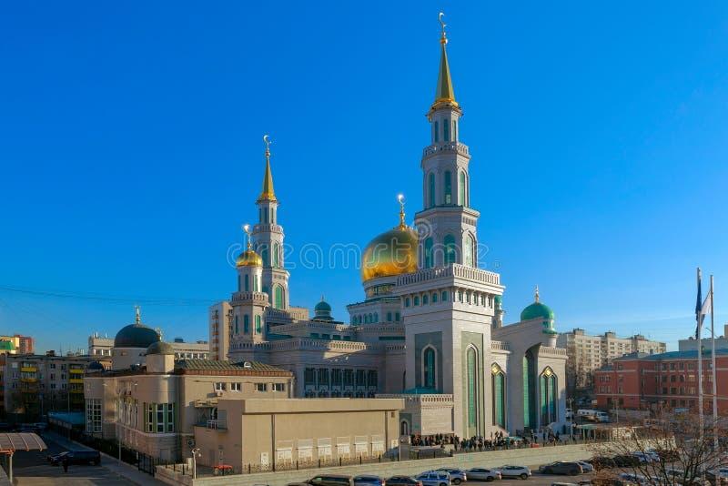 Moschea della cattedrale di Mosca Architettura, islam fotografia stock