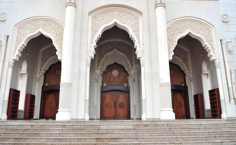 Moschea della Doubai immagine stock libera da diritti
