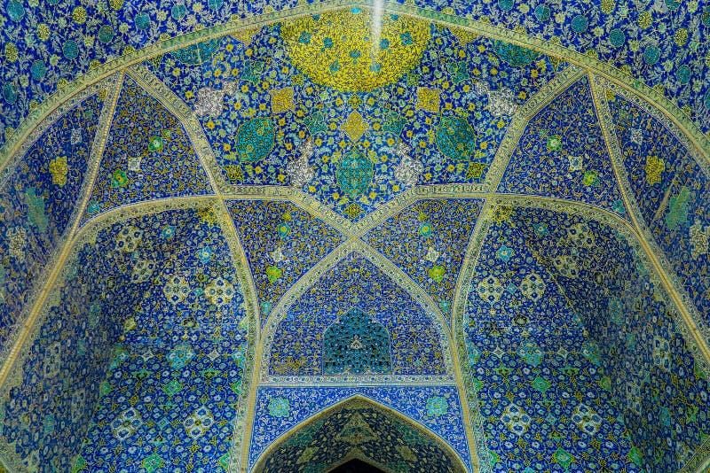Moschea 14 dello scià di Ispahan fotografie stock