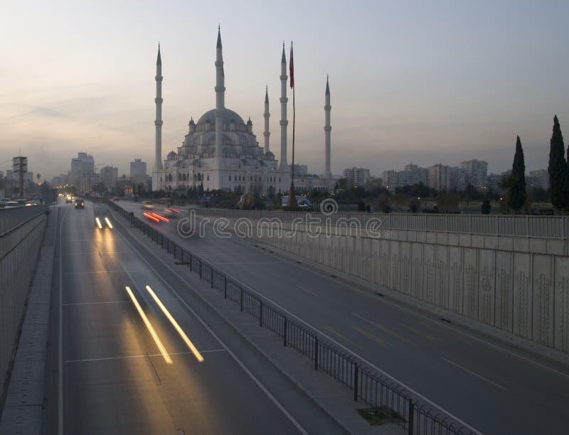Moschea di Adana fotografia stock libera da diritti