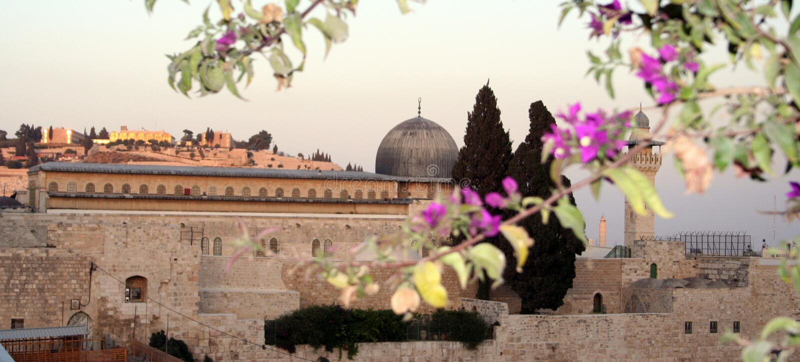 Moschea di Al-Aqsa fotografia stock libera da diritti