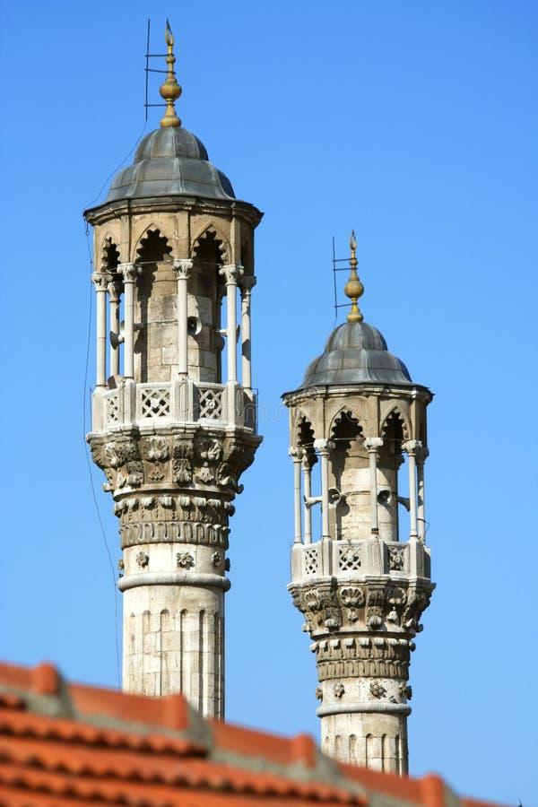 Moschea di Aziziye fotografia stock libera da diritti