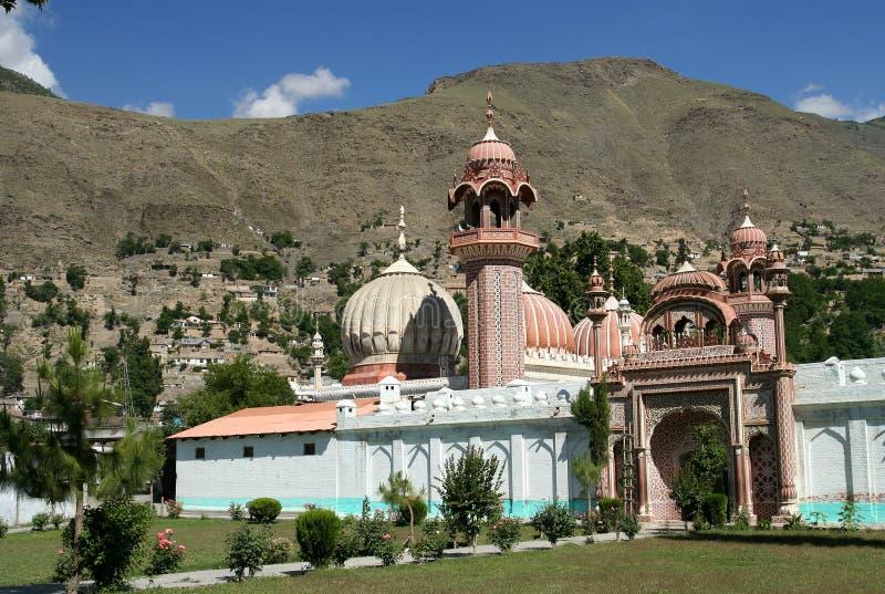 Moschea di Chitral fotografia stock