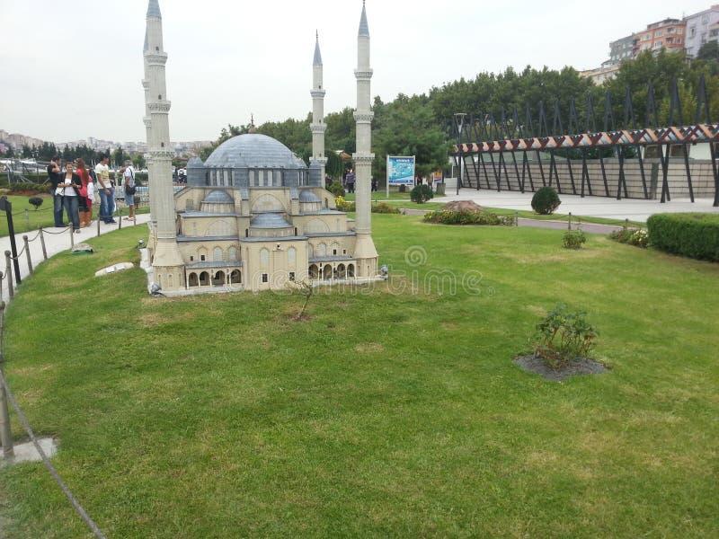 Moschea di Costantinopoli fotografie stock libere da diritti