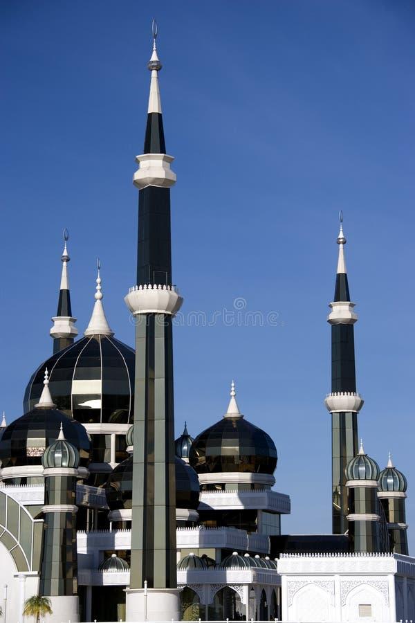 Moschea di cristallo fotografie stock
