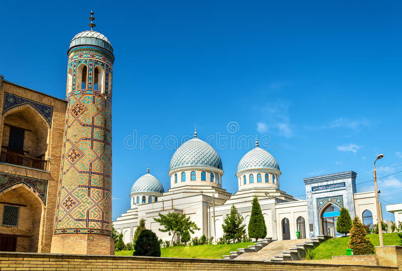 Moschea di Dzhuma in Taškent - l'Uzbekistan fotografia stock libera da diritti