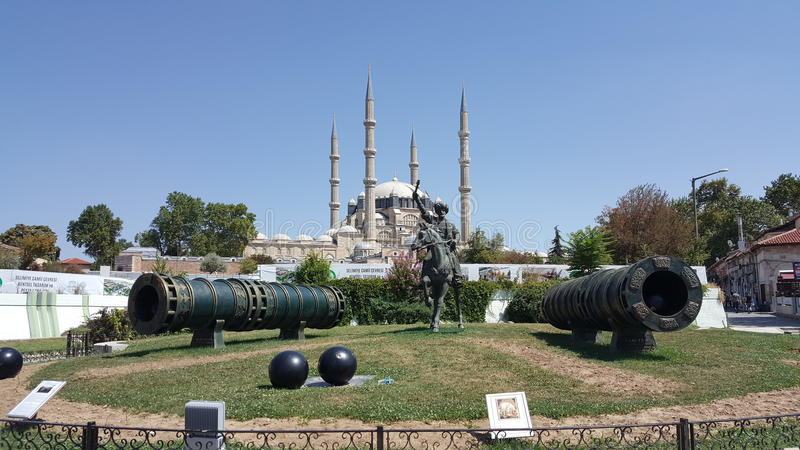 Moschea di Edirne Selimiye immagini stock libere da diritti