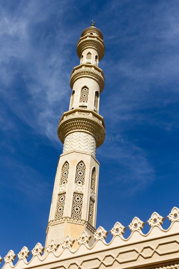 Moschea di EL Mina immagini stock libere da diritti