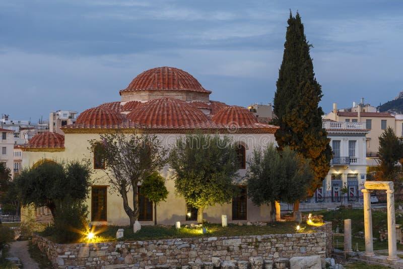 Moschea di Fethiye a Atene fotografie stock