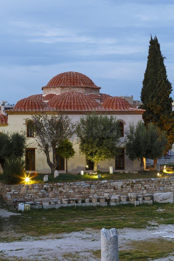 Moschea di Fethiye a Atene immagini stock libere da diritti