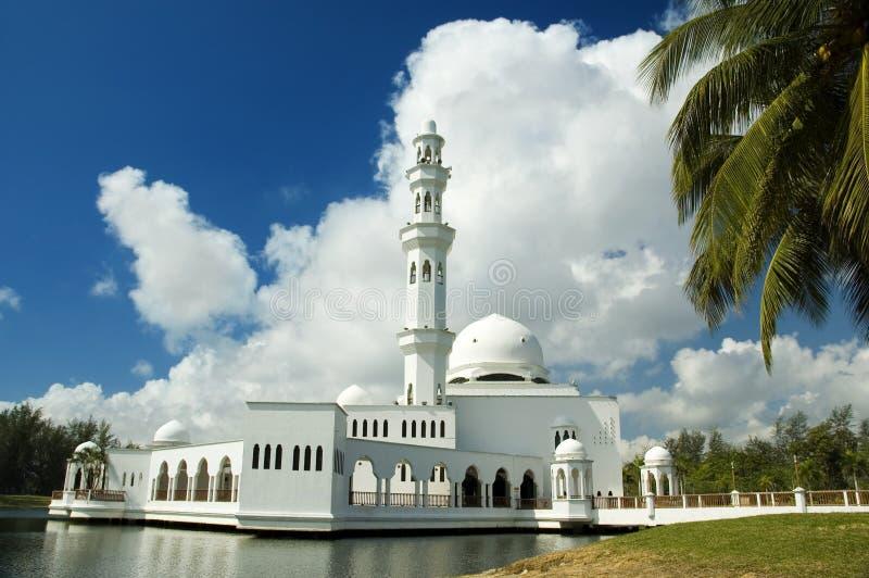 Moschea di galleggiamento immagini stock