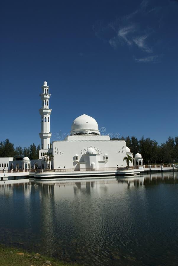 Moschea di galleggiamento di Terengganu, fotografia stock