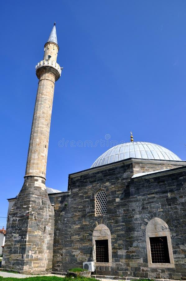Moschea di Hadum, Gjakova, il Kosovo fotografia stock libera da diritti