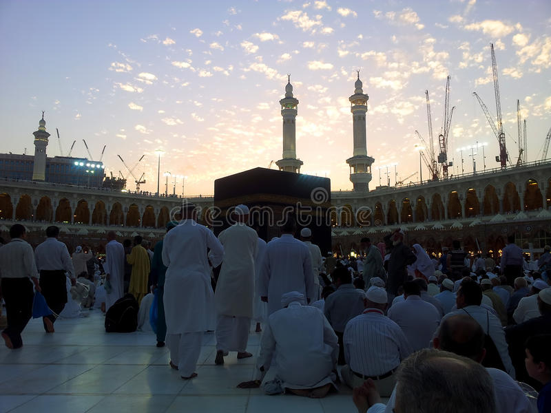 Moschea di Haram fotografia stock