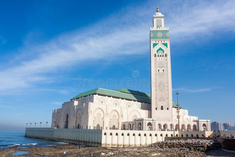 Moschea di Hassan II, Casablanca immagini stock