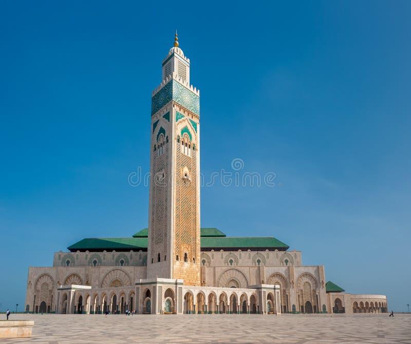 Moschea di Hassan II, Casablanca. Il Marocco immagine stock