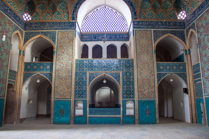 Moschea di Jameh in Yazd immagine stock